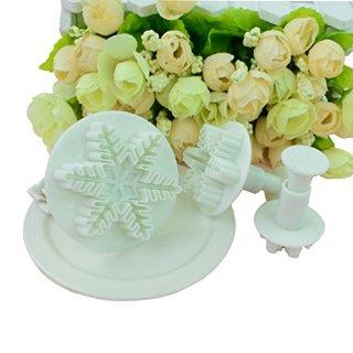 Recensioni dei clienti per Frese per fondente, motivo fiocco di neve, 3 pezzi | tripparia.it
