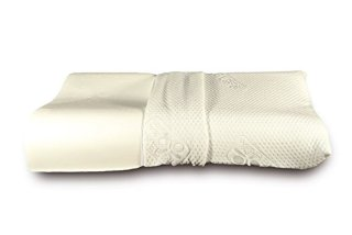 Cuscino Baldiflex in Memory Foam - Modello Ortocervicale - Fodera in Silver Safe