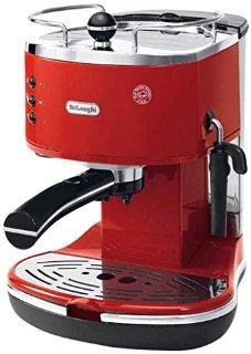 DèLonghi ECO311.R ICONA Macchina per Caffè Espresso con Pompa, Rosso