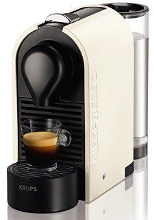 Nespresso U XN2501 macchina per caffè espresso di Krups, colore Pure Cream