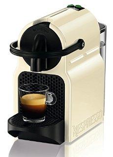 Nespresso Inissia EN80.CW macchina per caffè espresso di De'Longhi, colore Cream