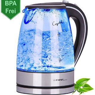 Bollitore acqua 2200 Watt vetro 1,7 l...