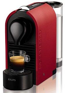 Nespresso U Mat XN2505 macchina per caffè espresso di Krups, colore Mat Red