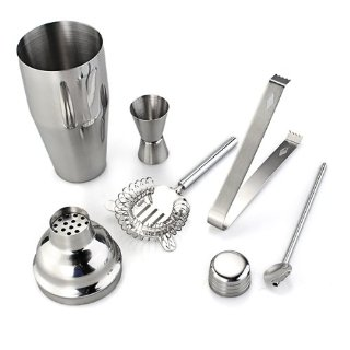 Recensioni dei clienti per Cocktail Set Bar Shaker Barset miscelatore Shaker 750 ml 5 TL | tripparia.it