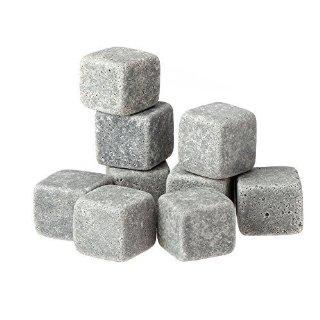 Recensioni dei clienti per Anself 9Pcs pietre del whisky cubi di ghiaccio / ghiaccio steatite / glaçons pietra con dispositivi di raffreddamento delle bevande coulisse Rocce di granito borsa Beer Pouch | tripparia.it