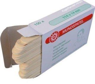 100 Spatola legno da Noba Verbandmittel varie grandezze