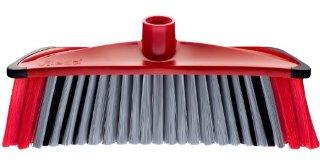Vileda 142156 3Action Scopa per interni, con 3 diverse setole, raccoglie tutti i tipi di sporco