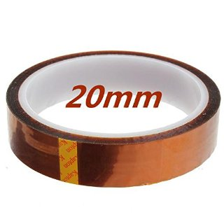 SODIAL (R) 20 millimetri 33m 100ft Kapton nastro ad alta temperatura resistente al calore poliimmide