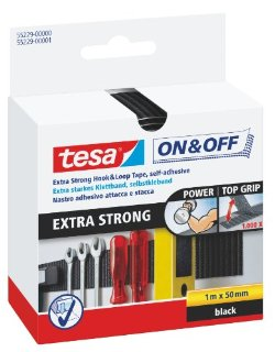 Recensioni dei clienti per Tesa On & Off velcro, extra forte, 1m x 50mm | tripparia.it