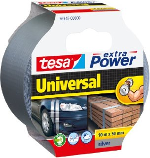 Recensioni dei clienti per Tesa nastro di riparazione in più di potenza, d'argento, 10m x 50mm | tripparia.it