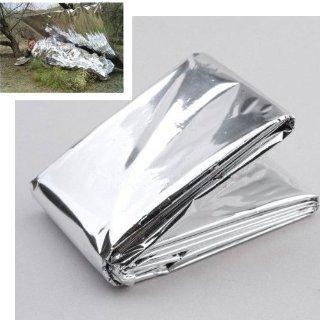 Recensioni dei clienti per SODIAL (R) di emergenza coperta di sopravvivenza telo impermeabile - colore d'argento | tripparia.it