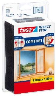 Tesa 55915-00021-00 Zanzariera per Finestra , Qualità Comfort, Antracite