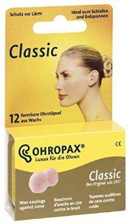 Ohropax Classic - Tappi per le orecchie, 6 paia