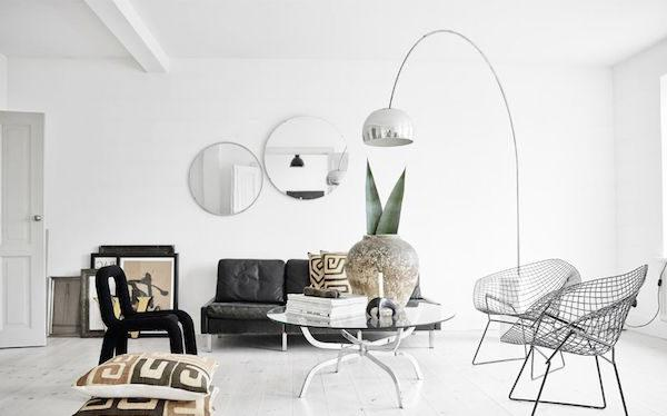 Luminoso stile scandinavo