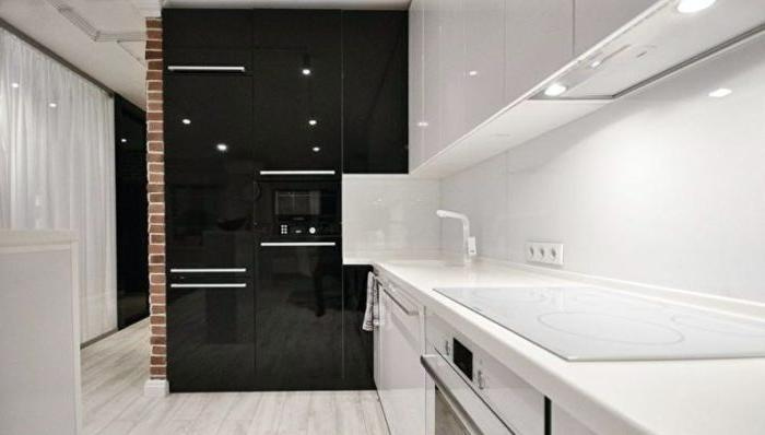 cucina design interni high tech